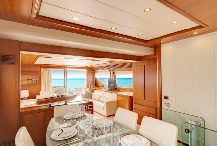 aimilia motor yacht dining_valef -  Valef Yachts Chartering - 5865
