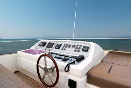 aimilia motor yacht fly bridge_valef -  Valef Yachts Chartering - 5868