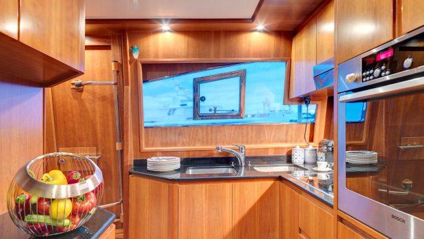 aimilia motor yacht galley2_valef -  Valef Yachts Chartering - 5863