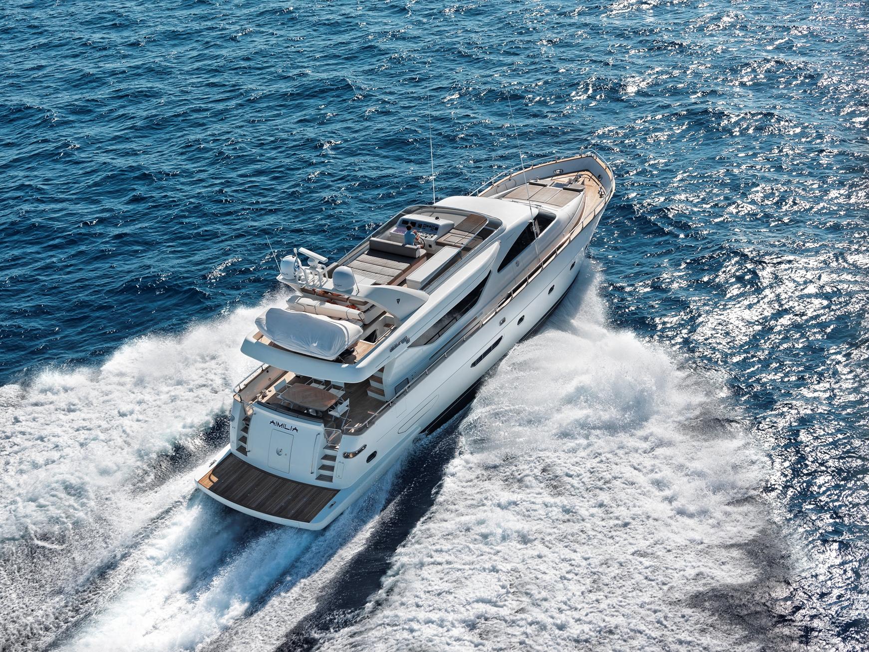 Aimilia Motor Yacht cruising