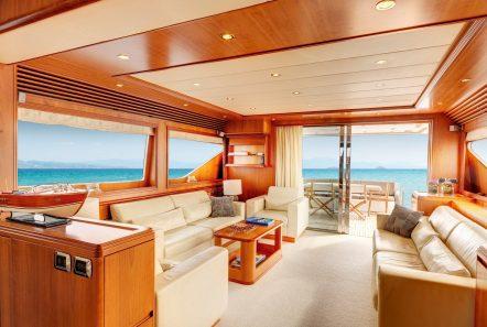 aimilia motor yacht salon_valef -  Valef Yachts Chartering - 5866