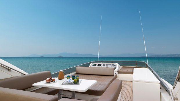 aimilia motor yacht sundeck_valef -  Valef Yachts Chartering - 5867