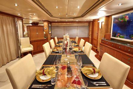 lady ellen ii dining (1)_valef -  Valef Yachts Chartering - 5664
