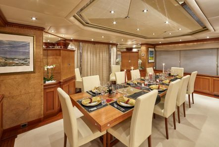 lady ellen ii dining (2)_valef -  Valef Yachts Chartering - 5663