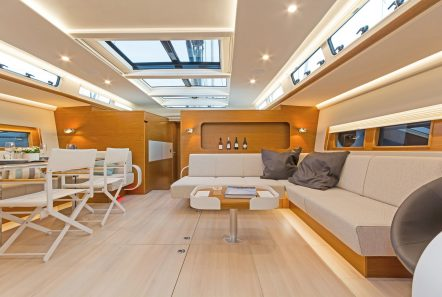 Nadamas salon angle -  Valef Yachts Chartering - 6636