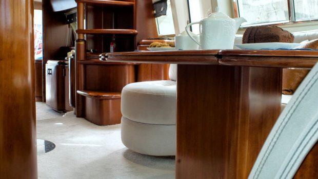 BLUE N WHITE Bridge salon (1) -  Valef Yachts Chartering - 6421