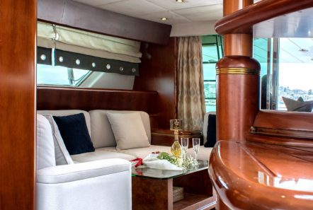 BLUE N WHITE Salon (3) -  Valef Yachts Chartering - 6429