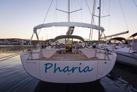 Pharia aft -  Valef Yachts Chartering - 6672