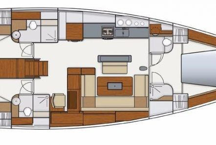 Pharia layout -  Valef Yachts Chartering - 6681