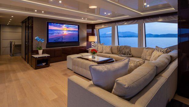 AQUA LIBRE Salon (2) -  Valef Yachts Chartering - 6474