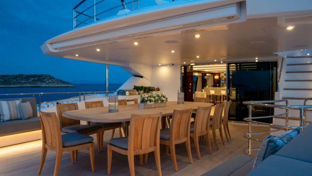 AQUA LIBRE Upper aft -  Valef Yachts Chartering - 6470