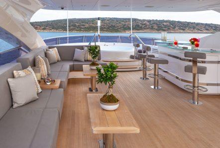 AQUA LIBRE Upper lounge 2 -  Valef Yachts Chartering - 6469