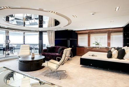 bliss convertible upper salon luxury charter yacht_valef -  Valef Yachts Chartering - 5755