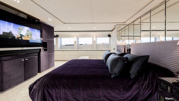 bliss master stateroom luxury charter yacht_valef -  Valef Yachts Chartering - 5736