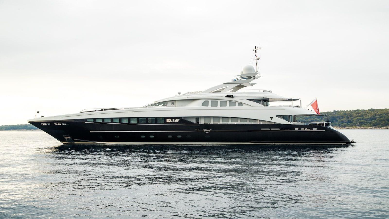 bliss profile  main luxury charter yacht_valef -  Valef Yachts Chartering - 5734