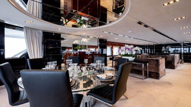 bliss salon dining luxury charter yacht_valef -  Valef Yachts Chartering - 5767