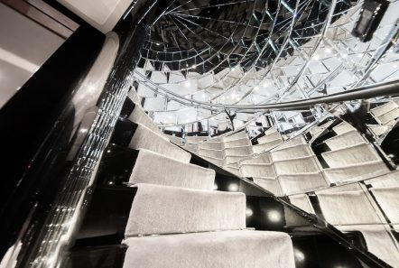 bliss spiral staircase luxury charter yacht_valef -  Valef Yachts Chartering - 5764
