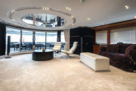 bliss upper salon luxury charter yacht_valef -  Valef Yachts Chartering - 5756