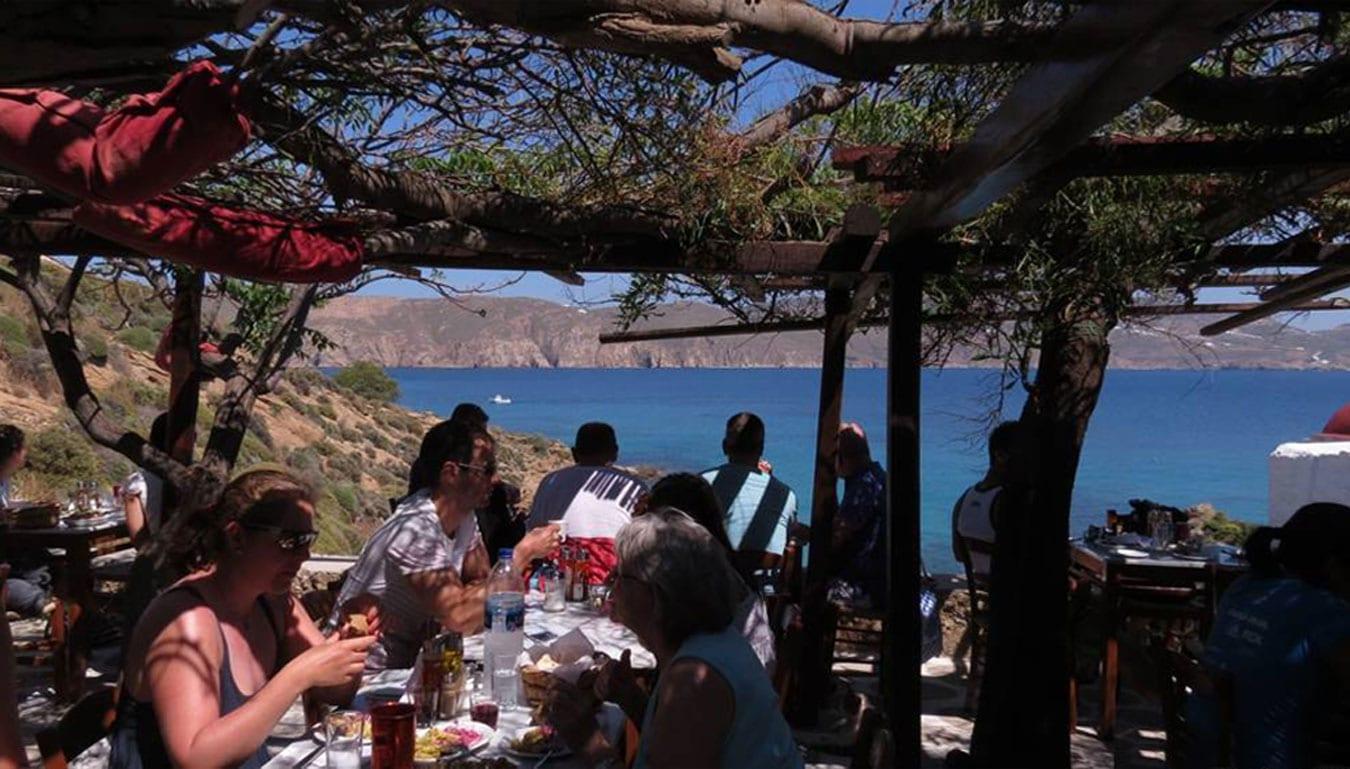 valef Kikis restaurant 1 -  Valef Yachts Chartering - 6743