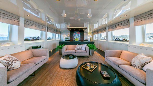 LUMAR salon -  Valef Yachts Chartering - 6394
