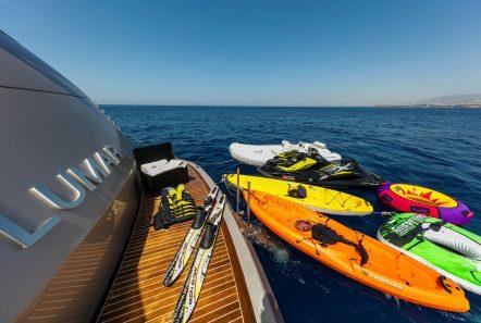 LUMAR swim playform -  Valef Yachts Chartering - 6392