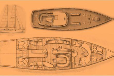 Helene sailing yacht layout -  Valef Yachts Chartering - 6624