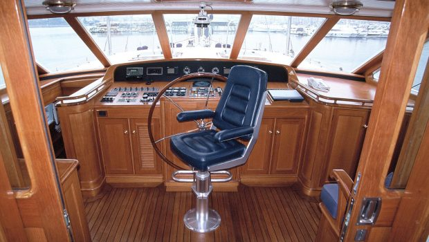 AXIA bridge -  Valef Yachts Chartering - 6457