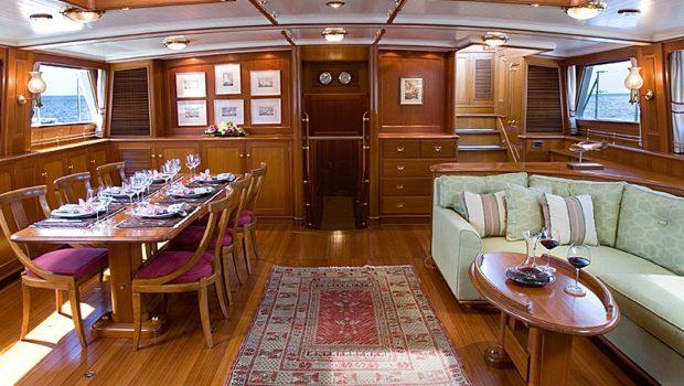 AXIA salon -  Valef Yachts Chartering - 6461