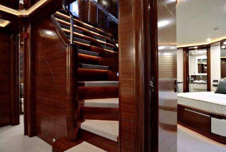 LIBERTAS stairs -  Valef Yachts Chartering - 6031