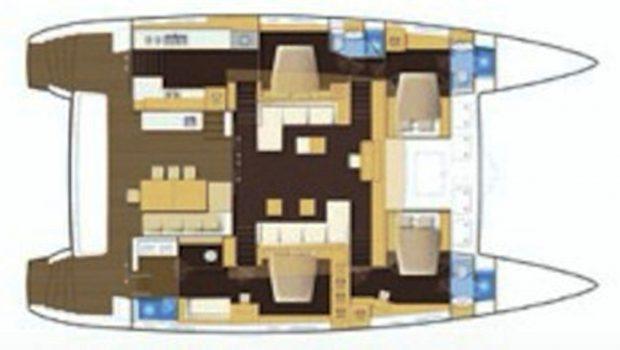 MOYA LAYOUT -  Valef Yachts Chartering - 6379