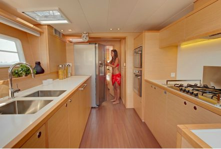 MOYA galley -  Valef Yachts Chartering - 6380