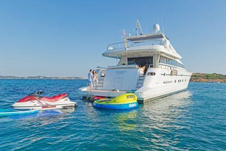 POIROT aft -  Valef Yachts Chartering - 6307