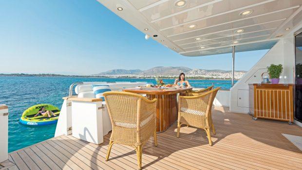 POIROT aft deck (1) -  Valef Yachts Chartering - 6310