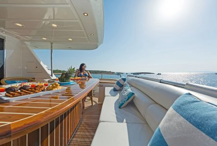 POIROT aft deck (3) -  Valef Yachts Chartering - 6308