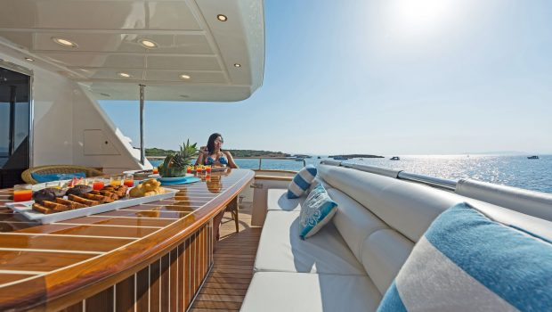 POIROT aft deck (3) -  Valef Yachts Chartering - 6308