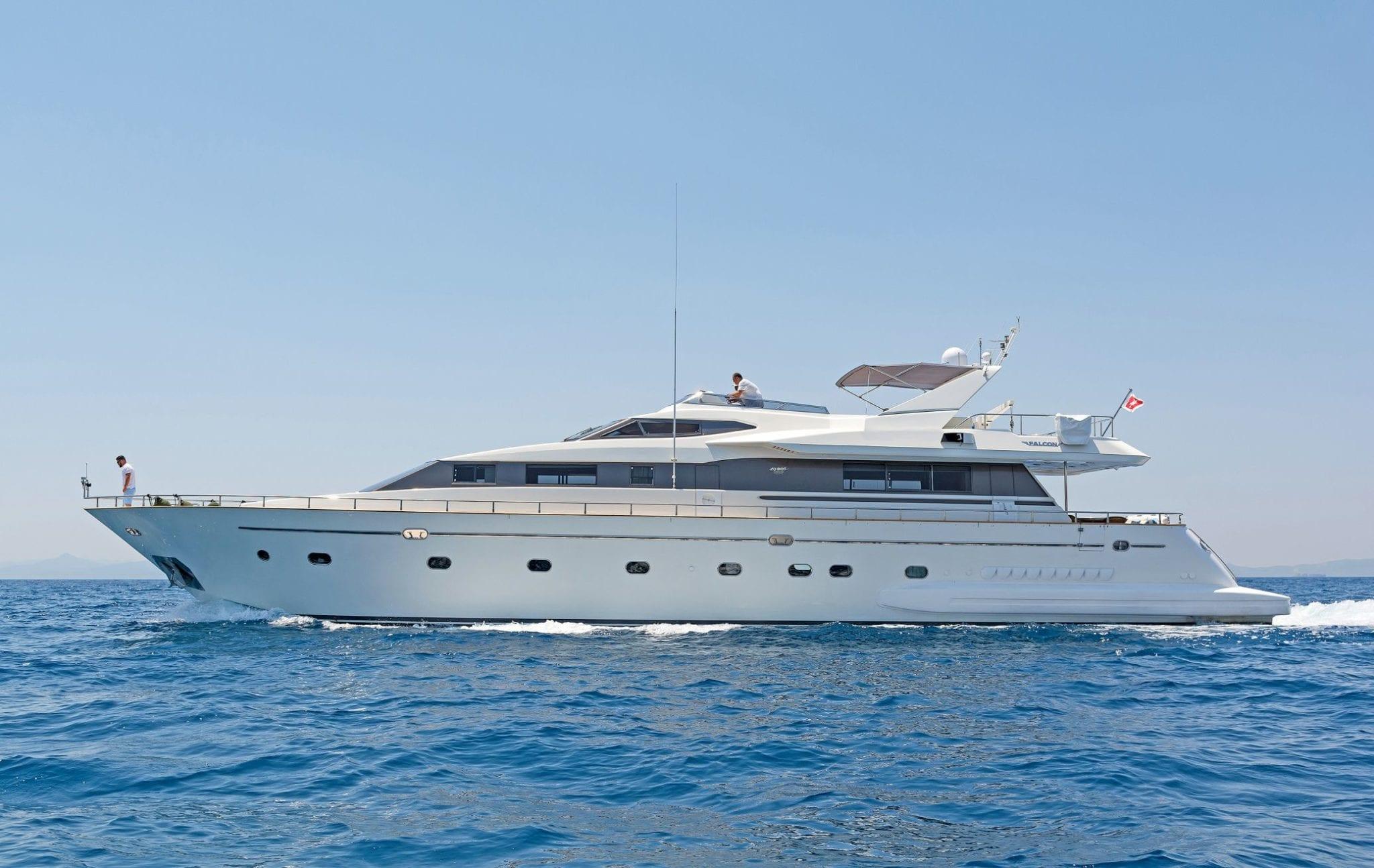POIROT profile -  Valef Yachts Chartering - 6298