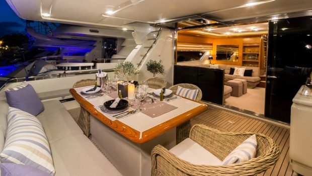 VENTO aft deck (3) -  Valef Yachts Chartering - 6089