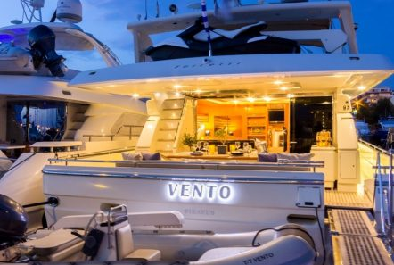 VENTO aft view -  Valef Yachts Chartering - 6119