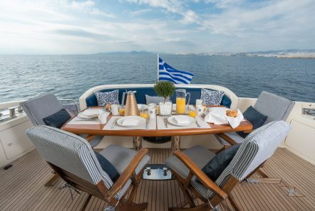 almaz aft deck -  Valef Yachts Chartering - 6131