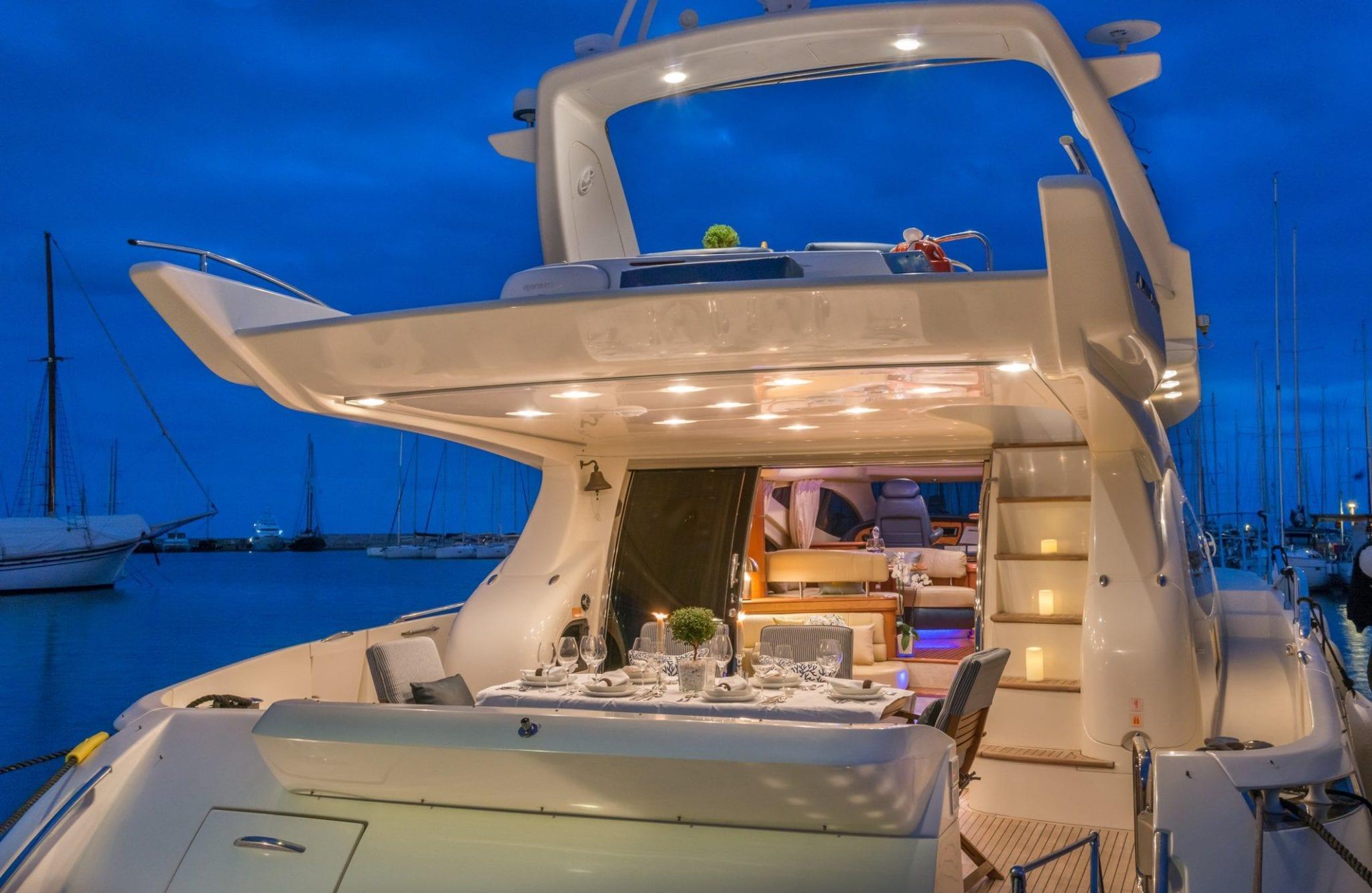almaz aft -  Valef Yachts Chartering - 6132