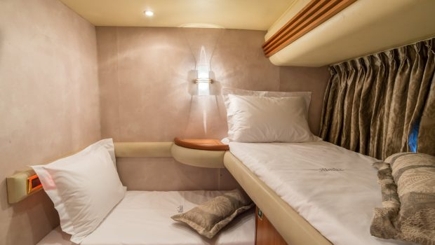 almaz twin bunks -  Valef Yachts Chartering - 6123