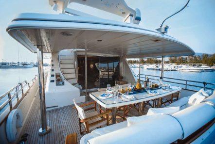 dream aft deck -  Valef Yachts Chartering - 6287