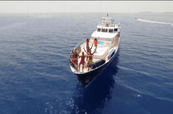 geordie shore mtv greece allahou -  Valef Yachts Chartering - 6488