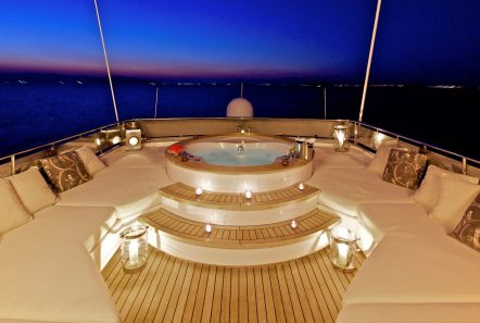 orion jacuzzi evening (1) -  Valef Yachts Chartering - 6067