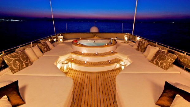 orion jacuzzi evening (2) -  Valef Yachts Chartering - 6066
