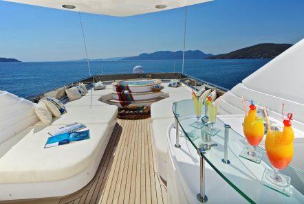 orion sundeck bar -  Valef Yachts Chartering - 6084