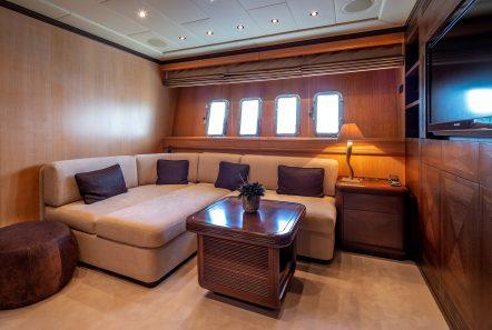 cosmos i yacht lower salon valef -  Valef Yachts Chartering - 5318