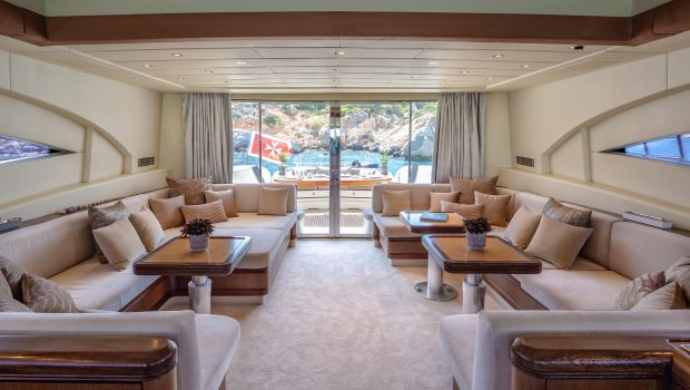 cosmos i yacht salon (2) valef -  Valef Yachts Chartering - 5313