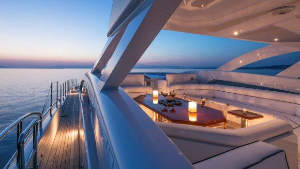l_equinox sunset sun deck_valef -  Valef Yachts Chartering - 5477