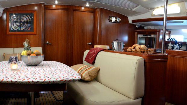 malena sailing yacht dining salon (10)_valef -  Valef Yachts Chartering - 5461
